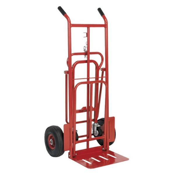 3 In 1 Convertible Sack Truck | Heavy Duty Pneumatic Tyres